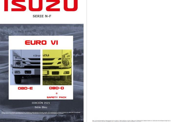 Fichas técnicas y Listado precios Serie N y F EURO VI OBD-D Safety Pack y OBD-E