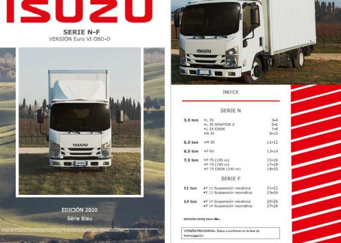 Fichas técnicas y Listado precios Serie N y F EURO VI OBD-D