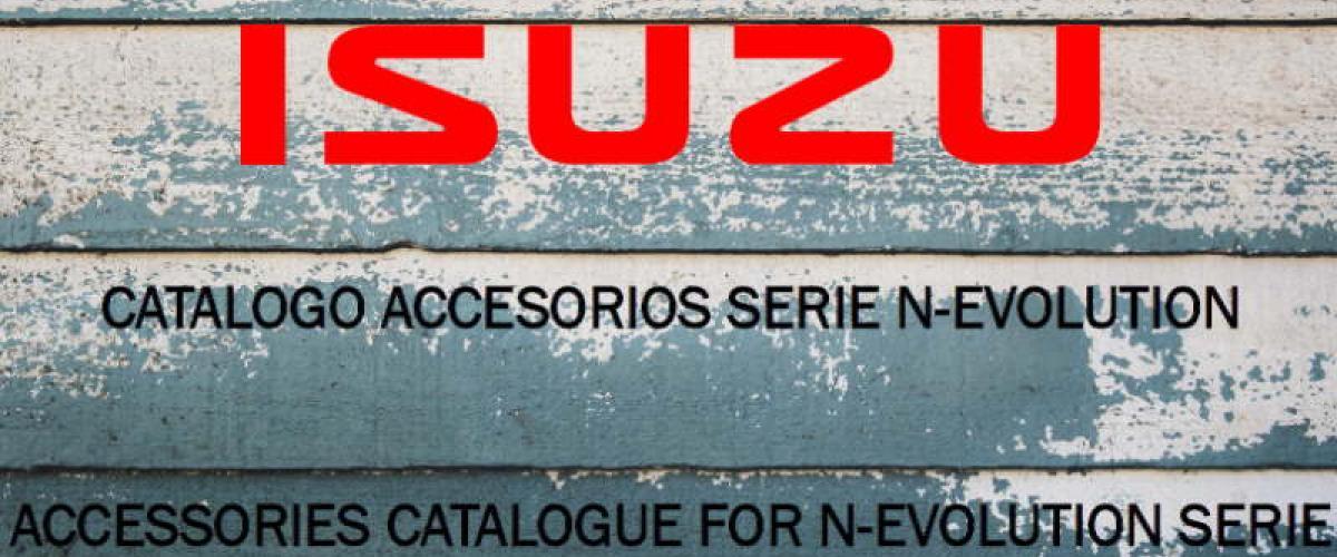 Catalogo accesorios Serie N-evolution